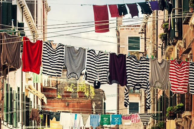 When Laundry is Your Biggest Sin Problem