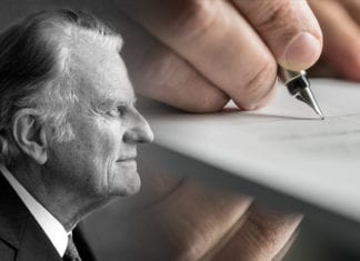 billy graham's will