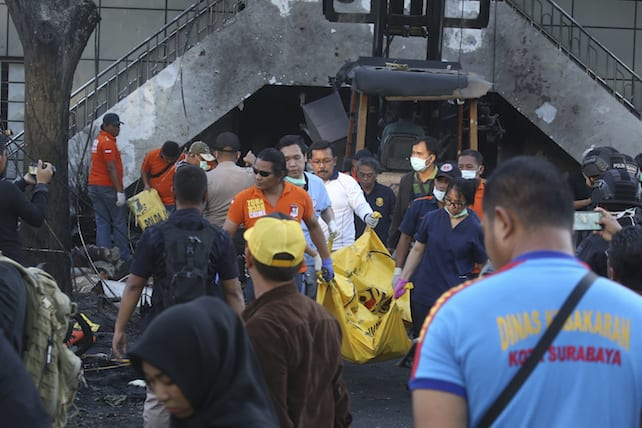 Indonesia Church Attacks