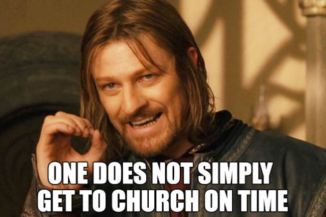 Christian Dad memes Lord of the Rings
