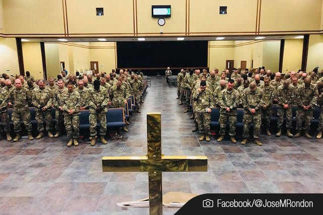 army spiritual revival
