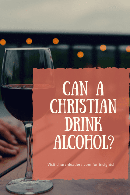christian drink alcohol