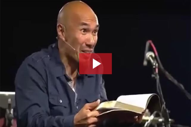 Francis Chan: If You Think a Loving God Wouldn't Judge, Have You Read the Bible?