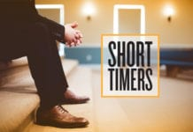 "church attendance Five ""Short-Timers"" Who May Not Stay Long at Your Church"