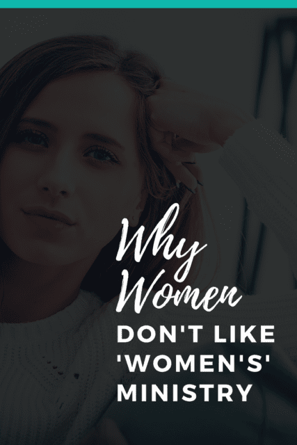 We know that some women love women's ministry, but there are others who'll never attend. Why is that? And how can those of us passionate about women's ministry be even more effective. #womensministry #womeninministry