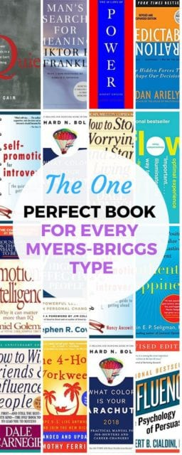 Is there one perfect book for each of the 16 Myers-Briggs Types? Why yes there is!