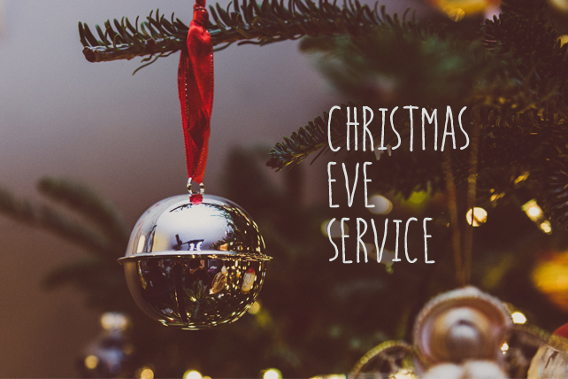 Christmas Eve Services.Christmas Eve 2018