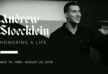 Andrew Stoecklein funeral