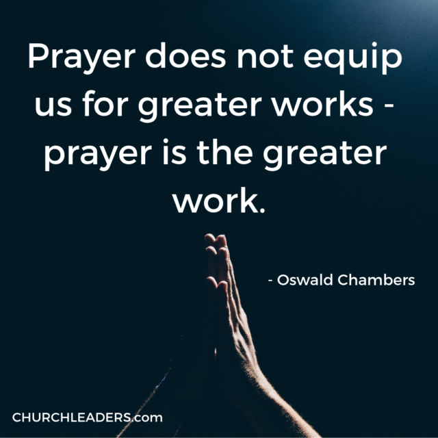 We often misunderstand prayer. While prayer is more than casual conversation with our Creator, it's far from twisting God's arm to get what we want.