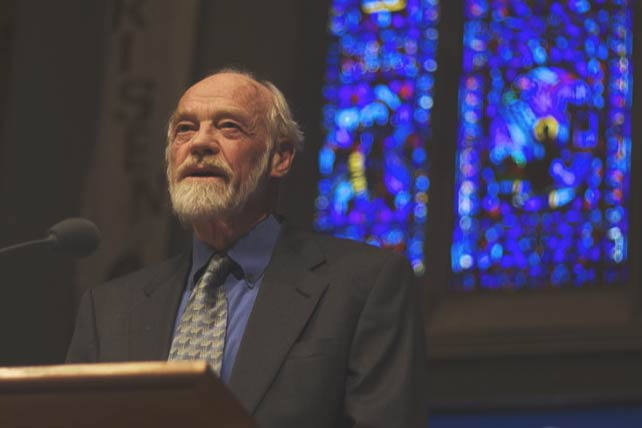 What Eugene Peterson Taught Me About Self-Protection