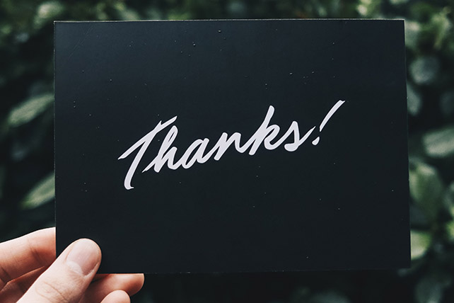 25 People You Should Say Thank You To Today
