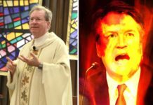 Brett Kavanaugh hex mass Father Gary Thomas