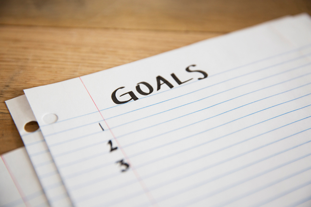 focusing on goals