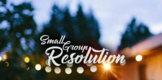 Small Group Resolutions for the New Year
