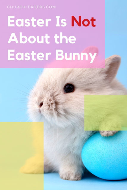 Easter not about easter bunny