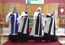 Irish church facebook video
