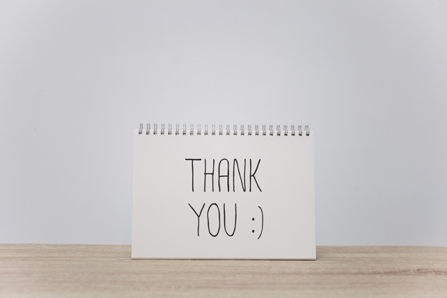 Don't Underestimate the Power of Thank You Notes