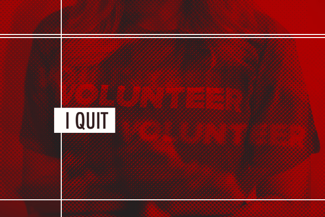 What to Do When a Volunteer Quits