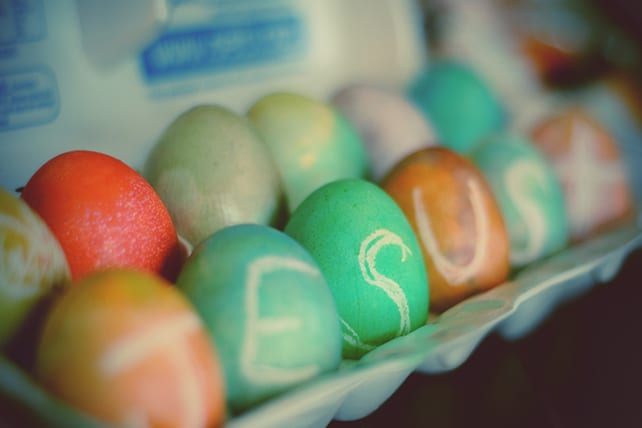 Easter Object Lesson: The Shell-less Egg