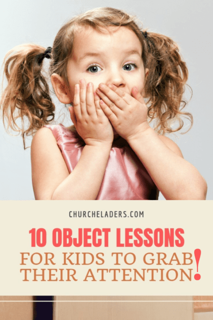 bible object lessons for kids