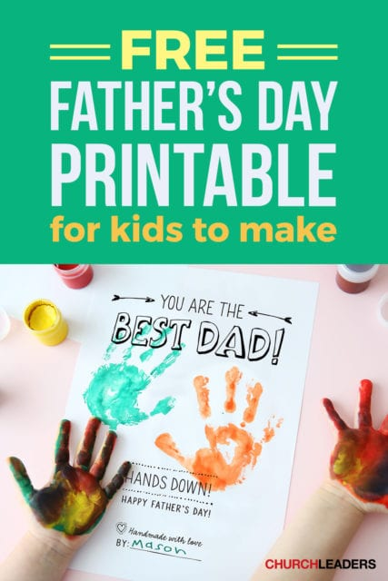 Father's day crafts for kids best dad