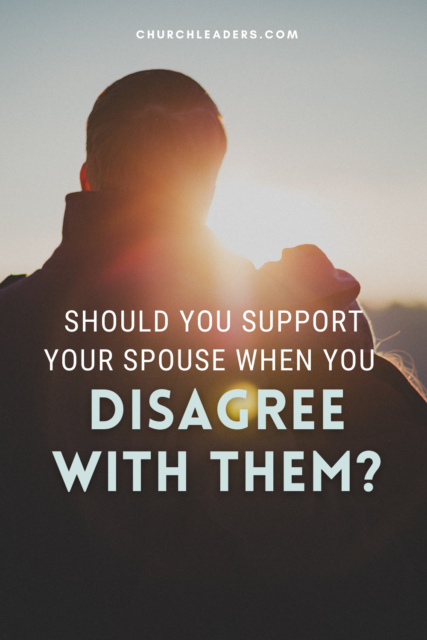 support your spouse