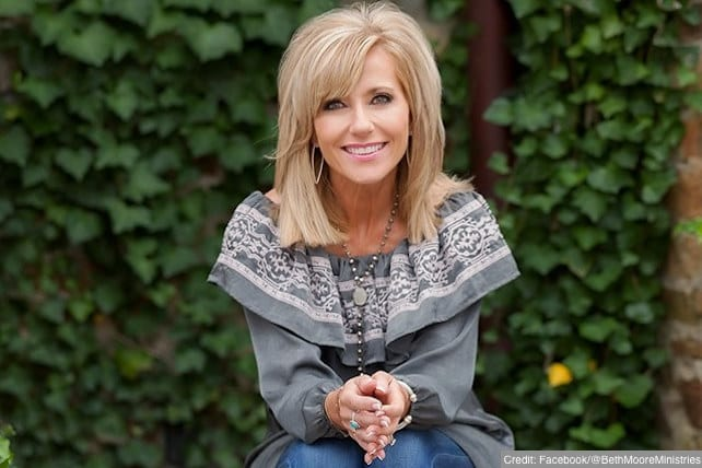 Beth Moore leaving