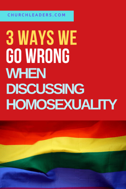 discussing homosexuality