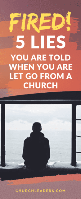 let go from a church