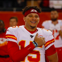 christian football players in the nfl Patrick Mahomes
