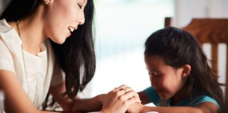 praying with your child