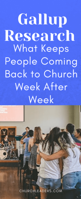 keep people coming back to church
