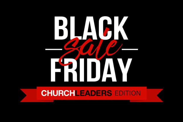 black friday deals for church leaders