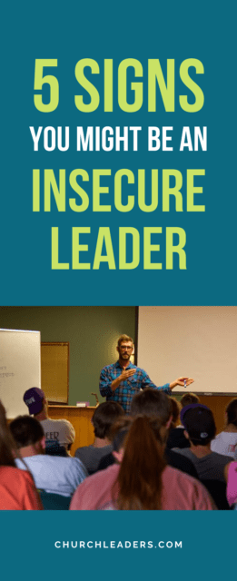 insecure leader
