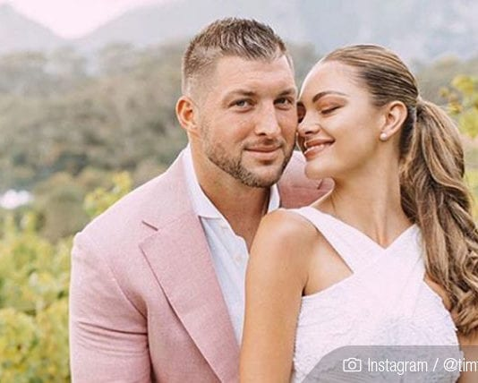 Tim Tebow married