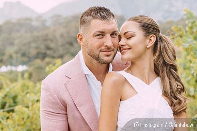 Tim Tebow Marries Fiancée Demi-Leigh in Stunning Ceremony
