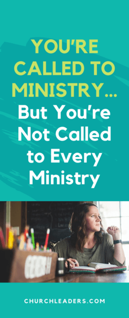 called to ministry