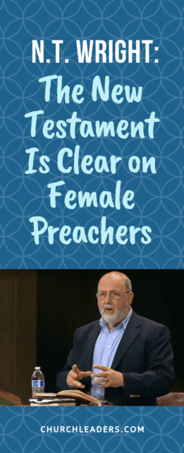 what does the Bibel say about female preachers