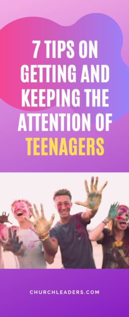 attention of teenagers