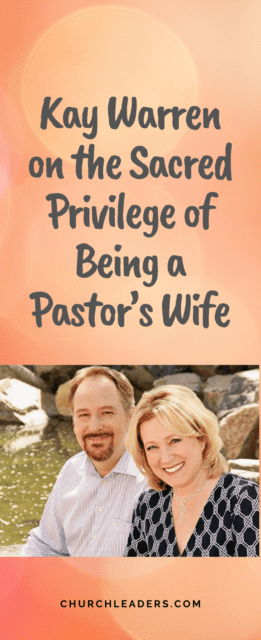 being a pastor's wife