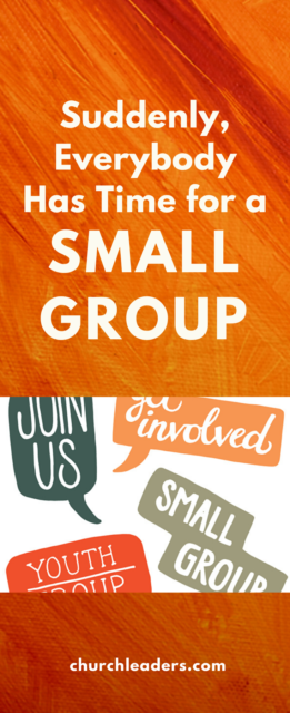 time for small group