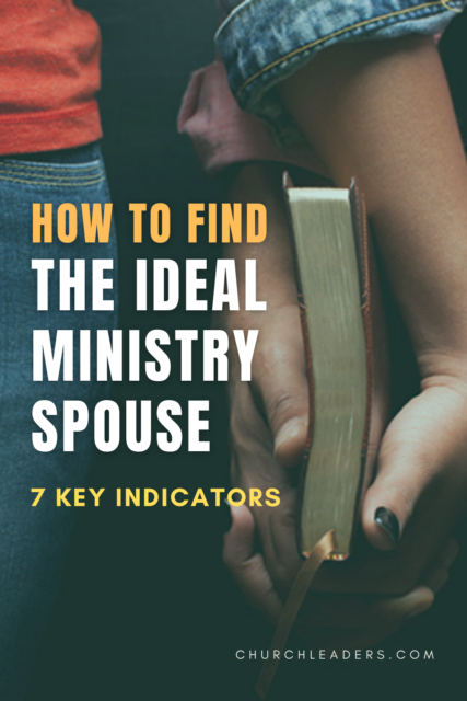 ideal ministry spouse