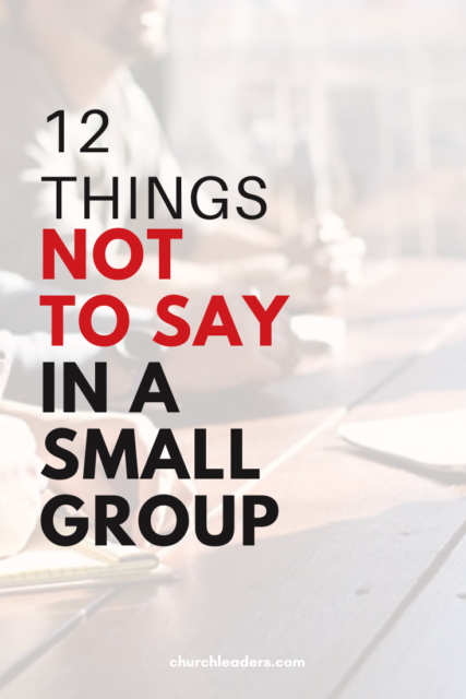 a small group
