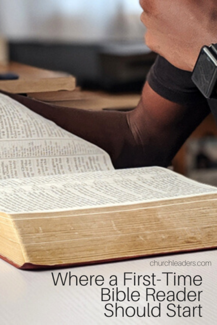 first-time Bible reader
