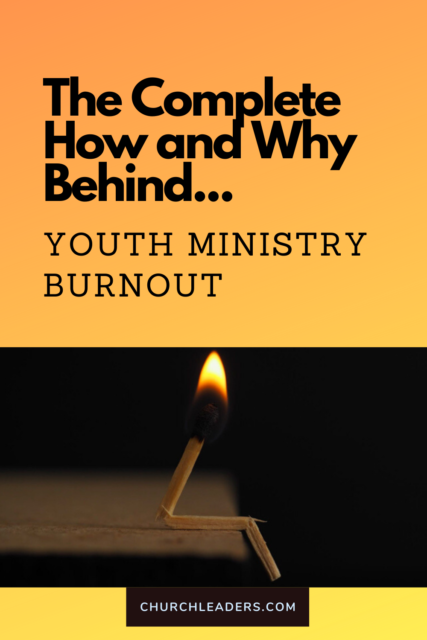 youth ministry burnout