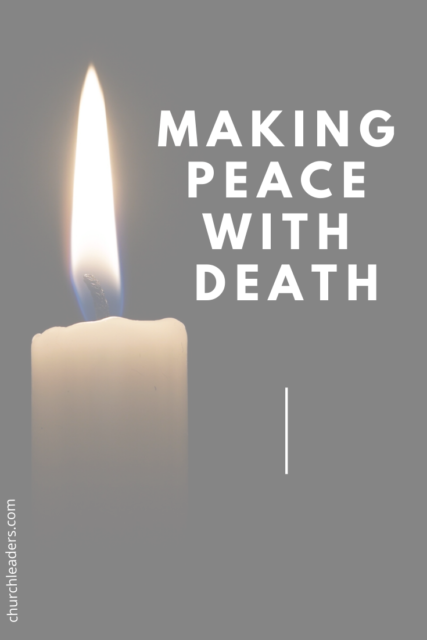 making peace with death