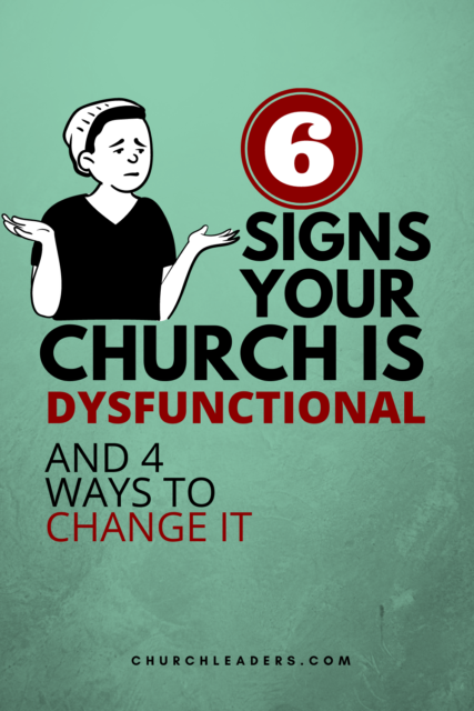 your church is dysfunctional