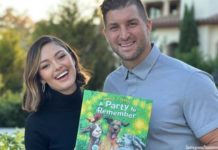 tim tebow's book