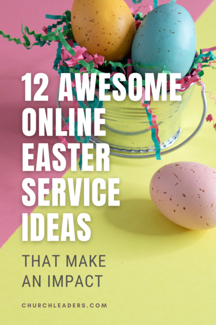 Easter service ideas