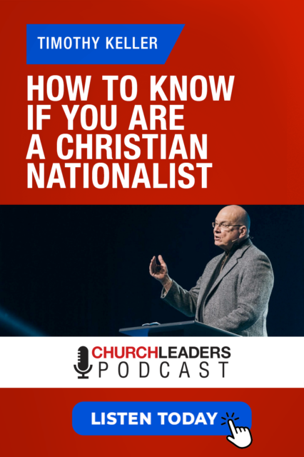 timothy keller christian nationalism